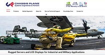Chassis Plans is a San Diego, CA based manufacturer of computers, LCD displays, storage arrays that are designed and assembled in the USA for Military and Industrial applications