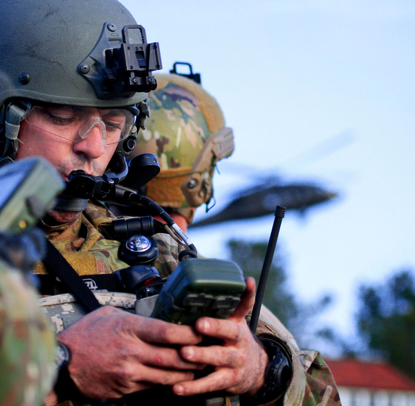 Securing military GPS from spoofing and jamming