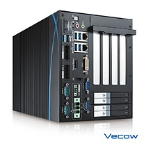 Vecow RCX-1000 supports 6-port 10G SuperSpeed USB 3.0 Gen 2, 4 PCI/PCIe expansion and RAID data protection